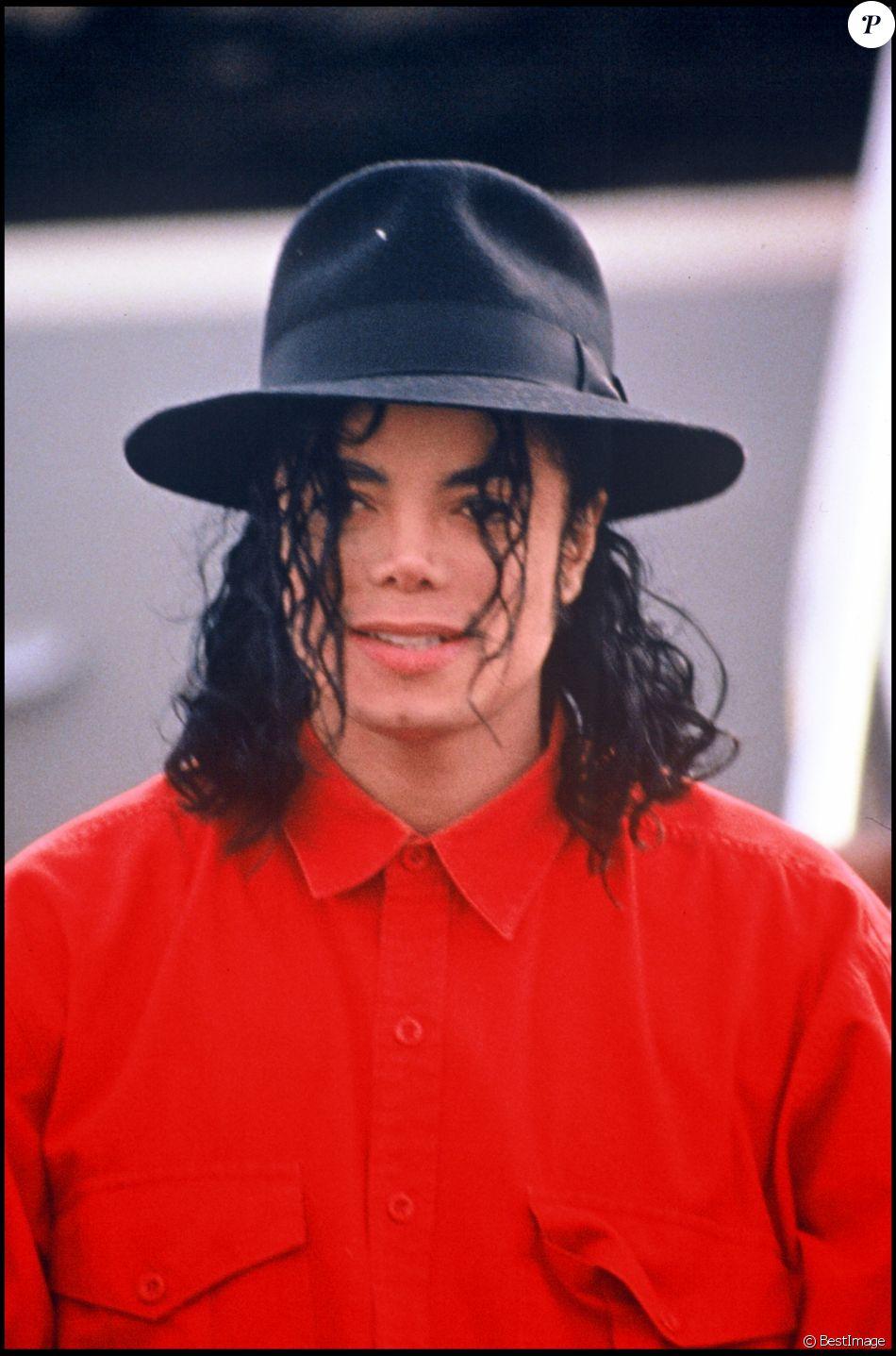 Michael Jackson le 1er octobre 1990, lieu inconnu.