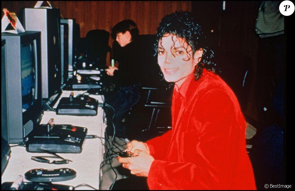 Michael Jackson le 7 octobre 1991, lieu inconnu.