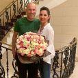 Zinédine Zidane souhaite un joyeux anniversaire à son épouse Véronique. Instagram, le 20 mars 2019.