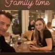 David Hallyday et sa fille Emma Smet - Instagram, 15 février 2019