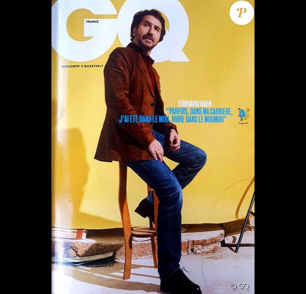 Le magazine GQ du mois d'avril 2019