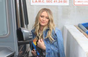 Hilary Duff publie la vidéo de l'instant où elle tient sa fille pour la 1e fois