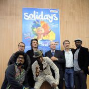 MC Solaar, Yvan Le Bolloc'h, Sébastien Folin, Antoine de Caunes : un peu grognons, mais... motivés quand même !