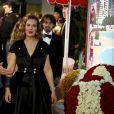 Carole Bouquet - 65ème édition du Bal de la Rose donné au profit de la Fondation Princesse Grace sur le thème de la Riviera, une idée de K. Lagerfeld, à la Salle des Etoiles du Sporting Monte-Carlo à Monaco, le 30 mars 2019. © Jean-François Otonello / Nice Matin / Bestimage
