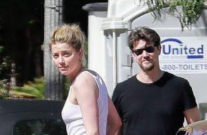 Amber Heard : Baiser fougueux et nouvelle apparition avec son nouveau chéri