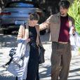 Exclusif - Amber Heard embrasse son nouveau compagnon Andy Muschietti dans la rue à Los Angeles le 13 mars 2019.