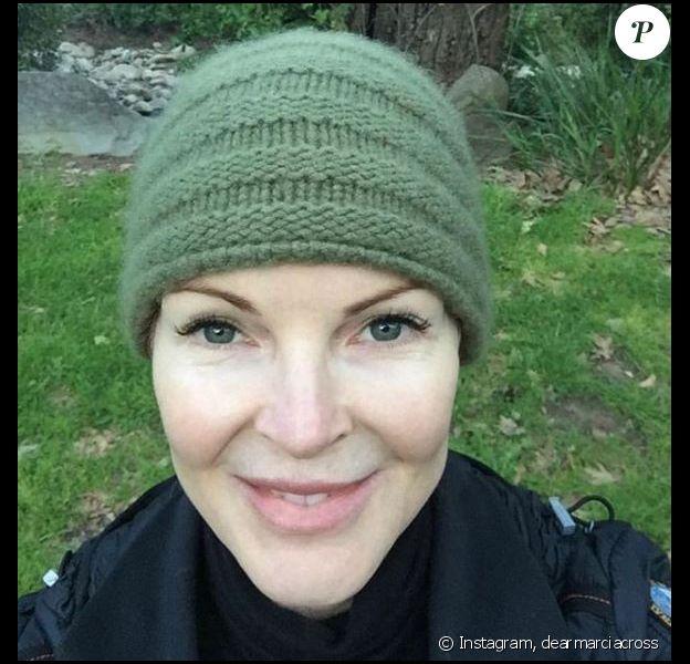 Marcia Cross en mode selfie sur Instagram, mars 2019
