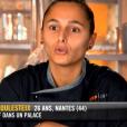 """Anissa lors du neuvième épisode de """"Top Chef"""" saison 10, mercredi 3 avril 2019 sur M6."""