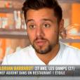 """Florian lors du neuvième épisode de """"Top Chef"""" saison 10, mercredi 3 avril 2019 sur M6."""