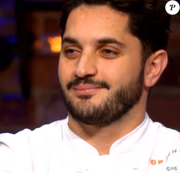 """Merouan lors du neuvième épisode de """"Top Chef"""" saison 10, mercredi 3 avril 2019 sur M6."""
