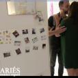 """Kevin et Marlène de """"Mariés au premier regard 3"""" - 11 mars 2018, sur M6"""