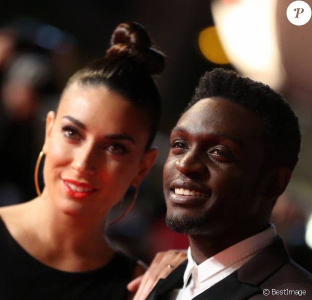 Corneille et sa femme Sofia de Medeiros - 16ème édition des NRJ Music Awards à Cannes. Le 13 décembre 2014.