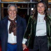 Christian Clavier et Isabelle de Araujo très amoureux : Rare sortie à Berlin
