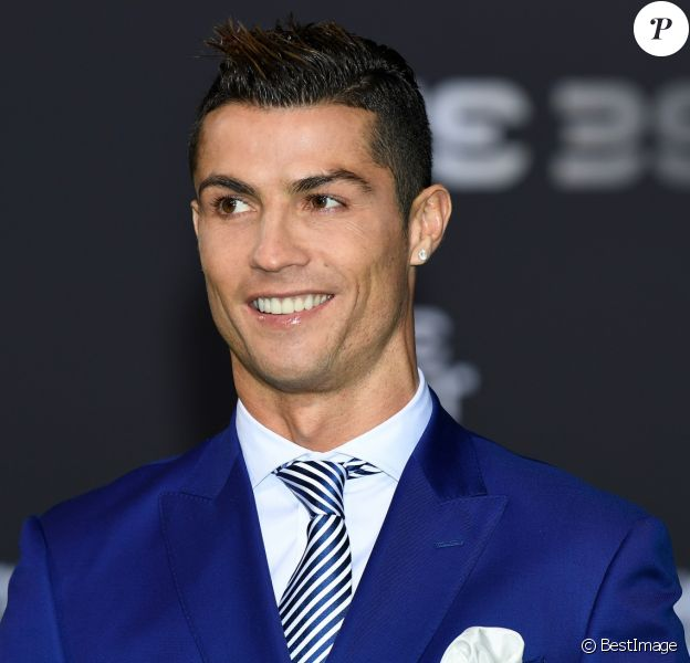 Cristiano Ronaldo au photocall des FIFA Football Awards à Zurich le 9 janvier 2017.