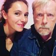 Lolita Séchan et son père, Renaud - septembre 2017.