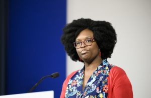 Sibeth Ndiaye et son compagnon :