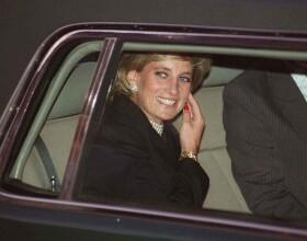 Lady Diana à Paris en 1995.