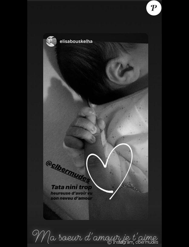 Clara Bermudes dévoile être maman pour la première fois, Instagram, 21 août 2019