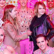 Cara Delevingne et Ashley Benson : Amoureuses au Moulin-Rouge, avec les danseurs