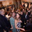 """Iris Mittenaere au lancement de la nouvelle collection capsule """"Iris Mittenaere for Morgan"""" dans la boutique Morgan des Champs-Élysées à Paris, France, le 11 avril 2019. © Rachid Bellak/Bestimage"""
