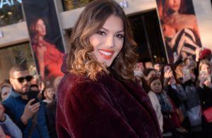 Iris Mittenaere : Radieuse pour une séance shopping mode sur les Champs-Élysées