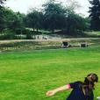 Sharlie, la fille de Vanessa Demouy - Instagram, 5 septembre 2018