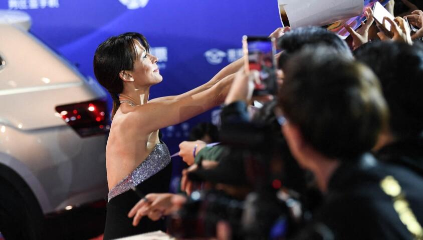 Sophie Marceau au Festival International du Film de Pékin, en Chine, le 13 avril 2019.