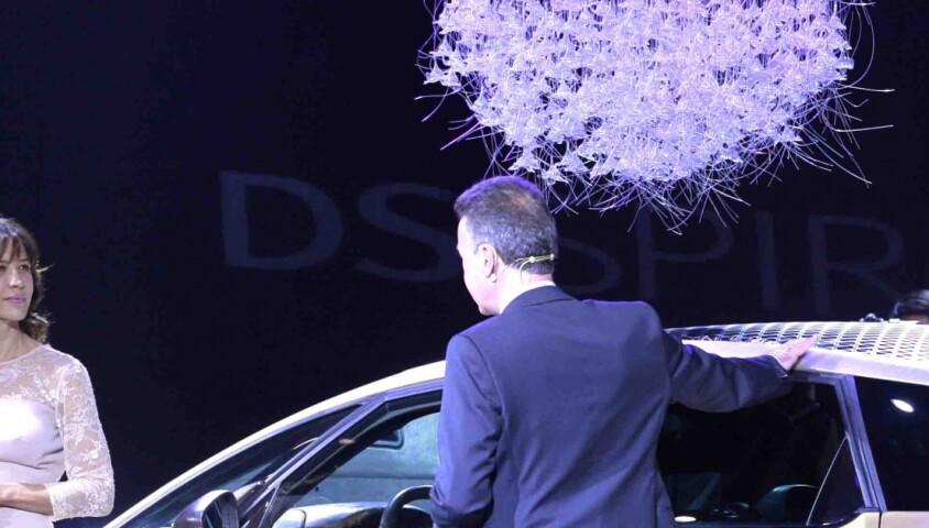 Sophie Marceau fait la promotion de la DS5 sur le stand Citroen lors du 11eme salon de l'automobile a Guangzhou en Chine le 21 novembre 2013.