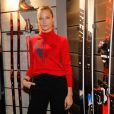 Ilona Smet - Inauguration du magasin Rossignol au 21 boulevard des Capucines à Paris, le 22 octobre 2018. © CVS/Bestimage