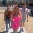 Nabilla se la joue Barbie à Coachella, le 13 avril 2019.