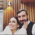 Lucie Bernardoni et son mari Patrice - Instagram, 19 décembre 2018