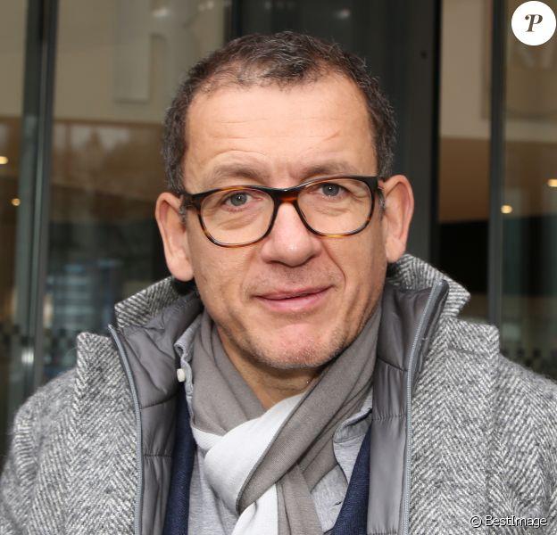 Exclusif - Dany Boon - Personnalités à la sortie de studios de radio à Paris. Le 15 janvier 2019