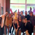 Gwyneth Paltrow a assisté au petit-déjeuner surprise pour l'anniversaire de Kate Hudson à Los Angeles. Le 20 avril 2019.