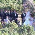 Exclusif - Mariage de Skylar Astin et Anna Camp sur la côte centrale de Californie, le 10 septembre 2016.
