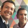 Jean-Luc Reichmann et Christian Quesada - Instagram