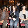 Vikash Dhorasoo, Chantal Lauby et Linh Dan Pham lors de la conférence de presse du Festival Paris Cinéma le 12 juin 2009