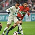 Neymar Jr. lors de la finale de Coupe de France perdue contre le Stade Rennais, le 27 avril 2019 au Stade de France.
