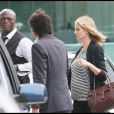 Heidi Klum, très enceinte, et son mari Seal