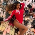Beyoncé, gâtée par adidas. Avril 2019.