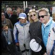 """Felipe Massa, Diane Kruger, Alejandro Agag - People lors de la 4ème édition du """"Paris ePrix"""" aux Invalides à Paris, qui compte pour le championnat FIA de Formule E. Le 27 avril 2019 © Alain Guizard / Bestimage"""