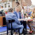 Le roi Willem-Alexander des Pays-Bas, ici avec la princesse héritière Catharina-Amalia, a célébré ses 52 ans le 27 avril 2019 à Amersfoort à l'occasion du King's Day.