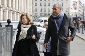 Valérie Trierweiler et son compagnon : Hommage à leur président Julien Lauprêtre