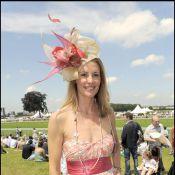 """Sophie Thalmann, une reine de beauté... magnifiquement """"chapeautée"""" au Prix de Diane !"""