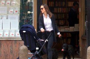 Pippa Middleton : Balade en famille avec son fils Arthur à Londres