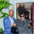 Lady Gaga est allée rendre visite à A.Wintour la veille du Met Gala à New York, le 5 mai 2019