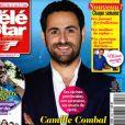 Camille Combal en couverture du magazine Télé Star, en kiosques lundi 6 mai 2019.