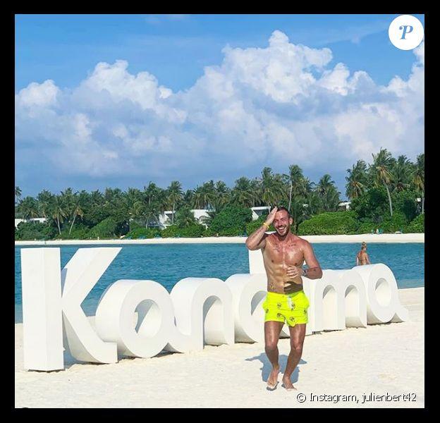 Julien Bert en vacances aux Maldives - Instagram, 7 mars 2019