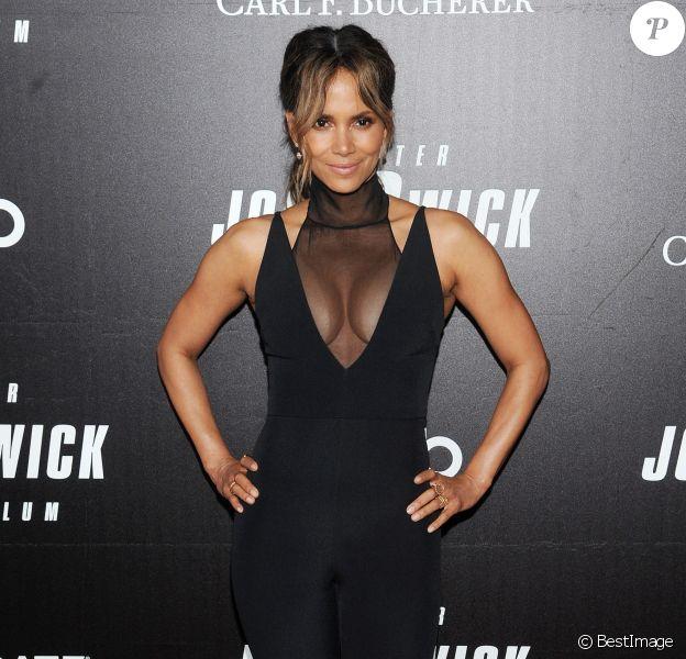 """Halle Berry - Avant-première de """"John Wick - Parabellum"""" au cinéma One Hanson Place à New York, le 9 mai 2019."""