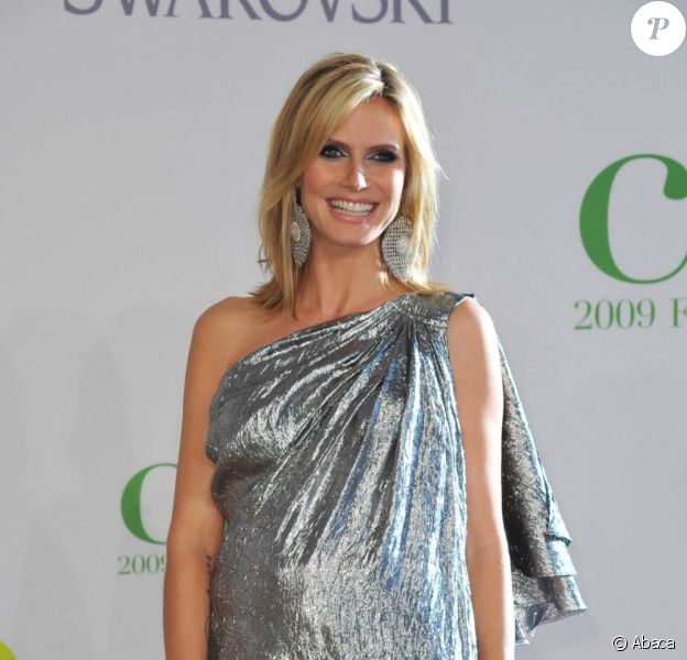 Heidi Klum aux CFDA Fashion Awards. 15/06/09