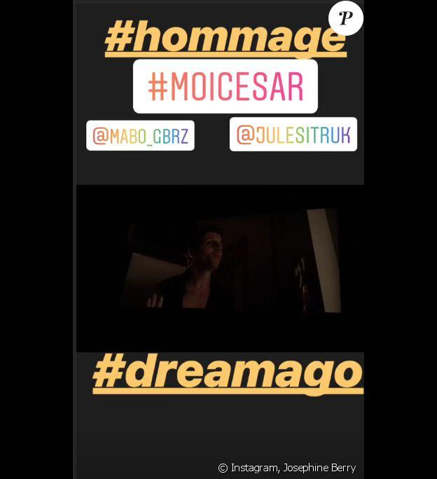 Josephine Berry sur Instagram- 12 mai 2019.